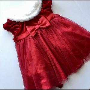 18m Jona Michelle red Christmas dress